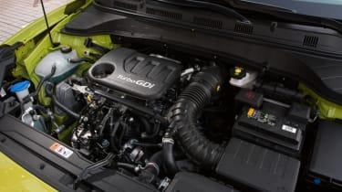 Hyundai Kona Premium SE 2017 - engine bay