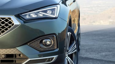 seat tarraco front detail