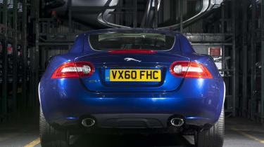 Jaguar XK Coupe rear
