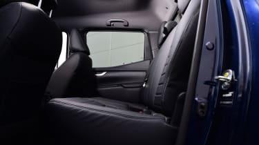 Mercedes x-class interior rear seats
