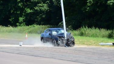 Jaguar S Type crash 3