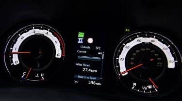 Toyota Hilux - dials