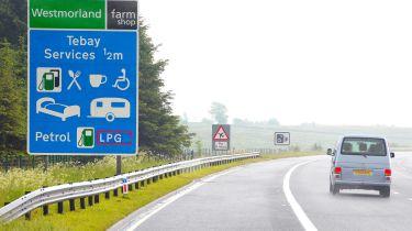 Tebay motorway service station