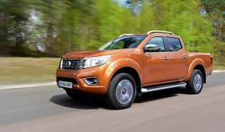 Nissan Navara long-term - front tracking