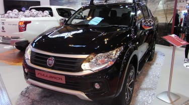 Fiat Fullback pick-up - show front quarter