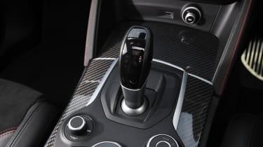 Alfa Romeo Stelvio Quadrifoglio gear lever