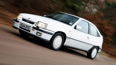 Vauxhall meant business with the Mk 2 Astra GTE 16V - it charged into the late eighties with lowered suspension, bespoke dampers and 150bhp.