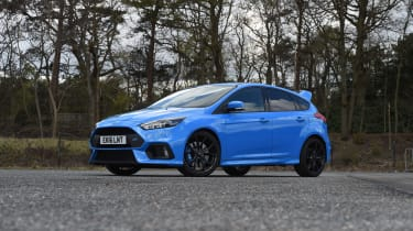 Ford Focus RS group - front three quarter