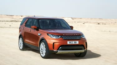 Land Rover Discovery 2017 - official off road 8
