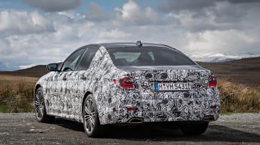 BMW 5 Series prototype 2016 - rear quarter