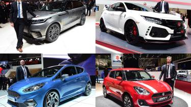 2017 Geneva Motor Show stars - header