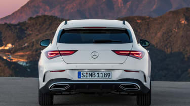 Mercedes CLA - rear