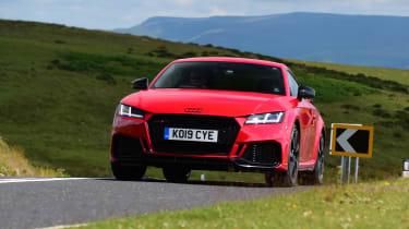 Audi TT RS - front cornering