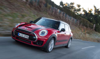 New MINI Clubman JCW 2017 front tracking