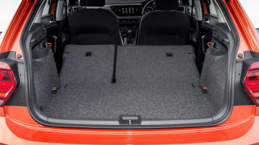 Volkswagen Polo 1.0 MPI - boot all seats down