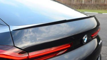 BMW X6 - rear spoiler