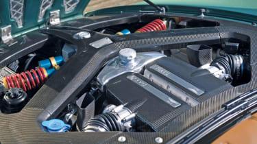 Aston Martin One-77 engine detail