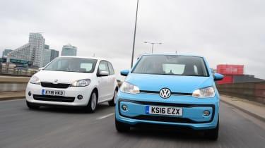 Volkswagen up! vs Skoda Citigo - head-to-head