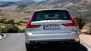 Volvo V90 estate 2016 - rear