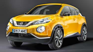 Nissan Juke (watermarked) - front