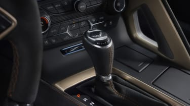 Chevrolet Corvette ZR1 centre console