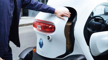 Renault Twizy Cargo door