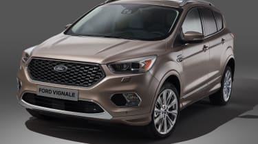 Ford Kuga Vignale - production front quarter
