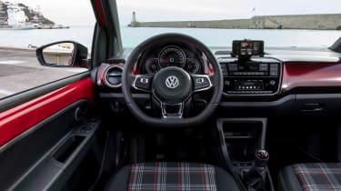 Volkswagen up! GTI - dash