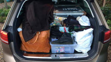 Volkswagen Passat Estate long-term final report - boot full detail