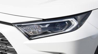 Toyota RAV4 headlight