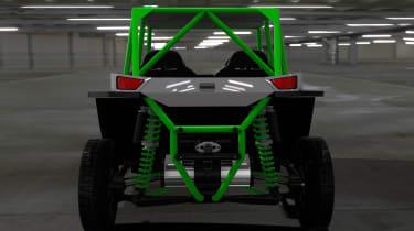 Nikola Zero - rear