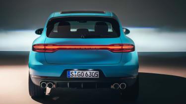 Porsche Macan - full rear