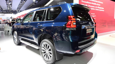 Toyota Land Cruiser - Frankfurt show rear