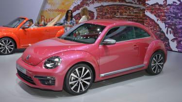 VW Beetle pink concept