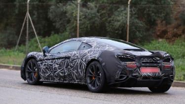 McLaren Sport Series (P13) spy shots - rear