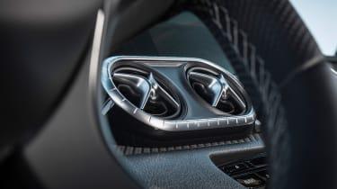 Mercedes X-Class pick-up truck - vents
