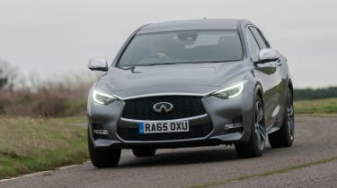 Used Infinti Q30 - front cornering
