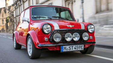 Mini Classic electric - front