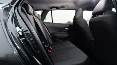 Suzuki Swace - rear seats