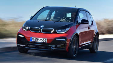 BMW i3s - front tracking