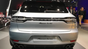 Porsche Macan Turbo - rear static Frankfurt