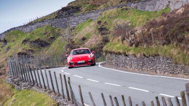 Porsche 911 GT3 - front panning