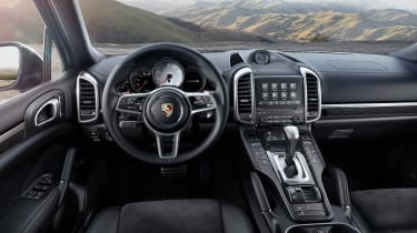 Porsche cayenne S platinum edition dashboard/interior