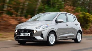 Hyundai i10 - front tracking