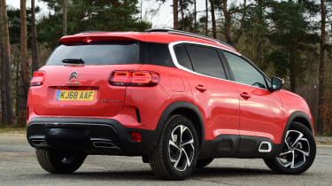 citroen c5 aircross static rear quarter