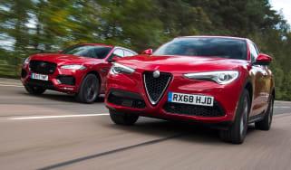 Alfa Romeo Stelvio vs Jaguar F-Pace - header