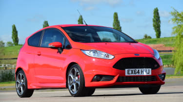 Ford Fiesta ST Mountune - front static