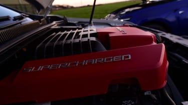 Lexus GS F vs Vauxhall VXR8 GTS - engines