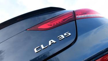 Mercedes-AMG CLA 35 - CLA 35 badge