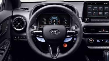 Hyundai Kona N - steering wheel